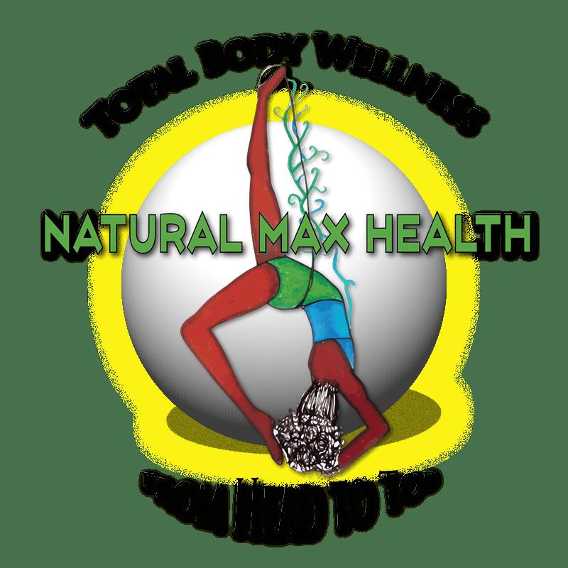 Natural max health logo, formulating Best Herbal Blends For Total Body Wellness